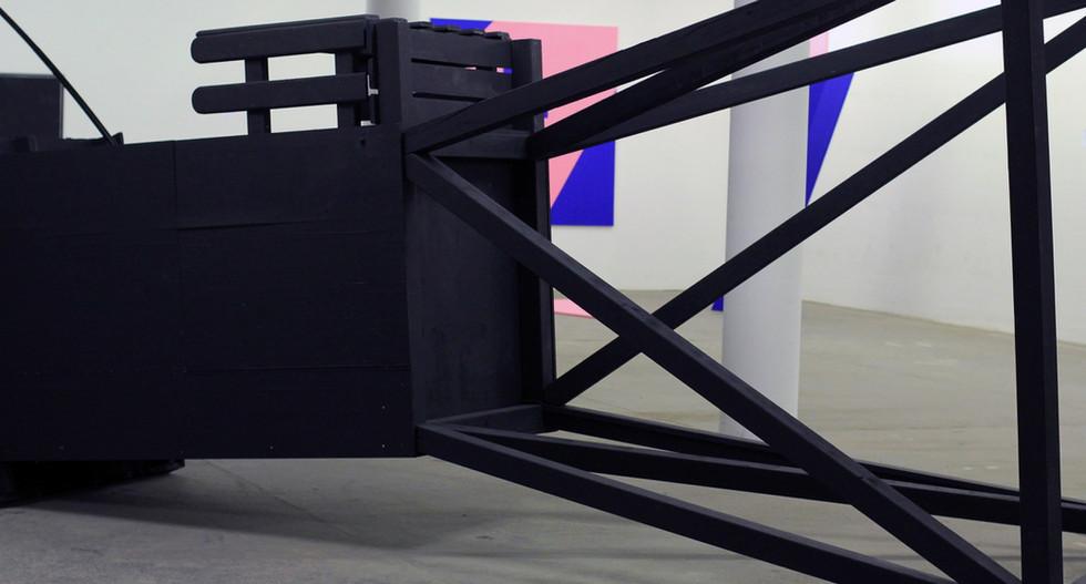 Exhibition View / Groupshow / Ausarten - Das Exponential / 2015, Vienna