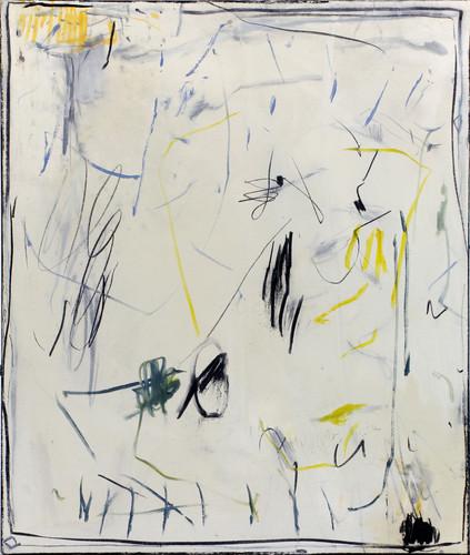 ohne Titel / untitled | Mischtechnik auf Leinwand / mixed media on canvas | 120 x 100cm | 2016