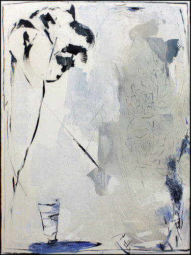 ohne Titel /untitled | Mischtechnik auf Leinwand / mixed media on canvas | 160 x 120 cm | 2017