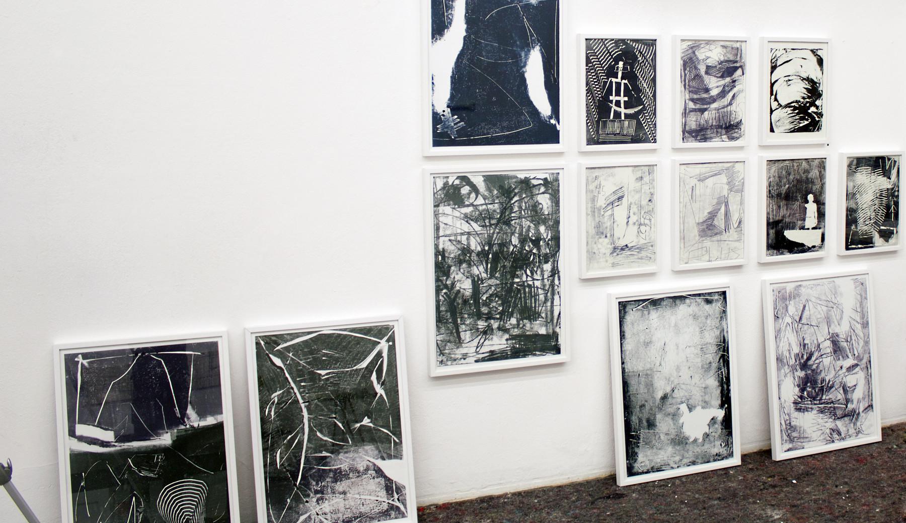 Exhibition View / Living-Studio 2019 / Jan Arnold Gallery, MQ Vienna / 2019, Vienna