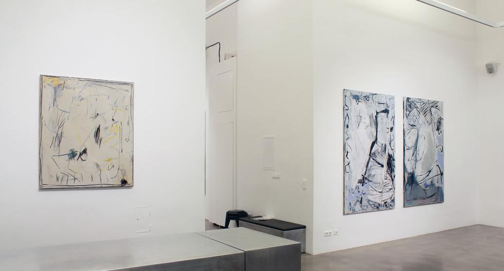 Exhibition View / sometimes, almost, always / Soloshow at Bildraum07 / 2017, Vienna