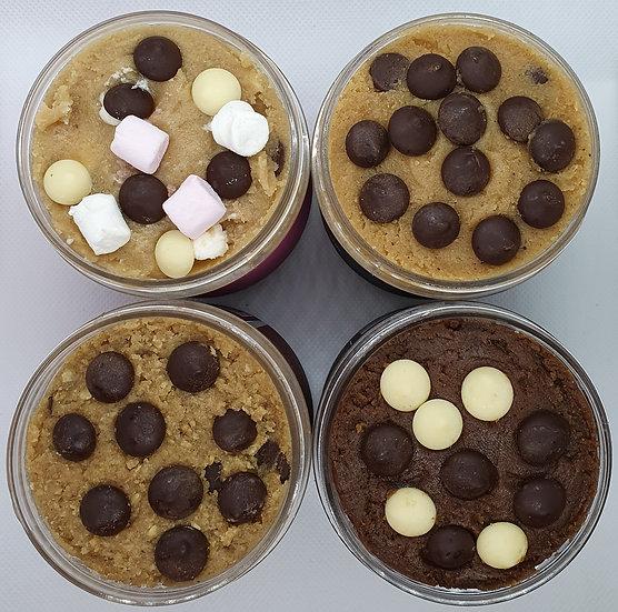 4 x 280g tubs - Edible Cookie Dough