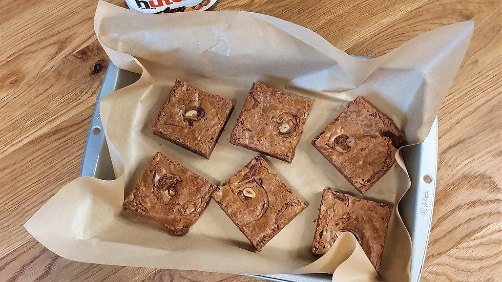 Gluten Free Nutella Brownie