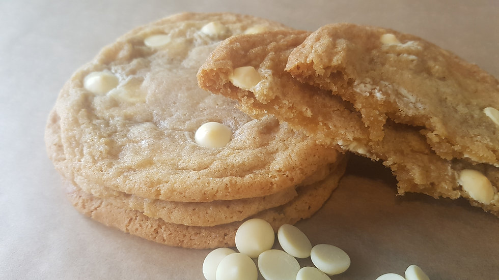 Lemon and White Chocolate Cookie