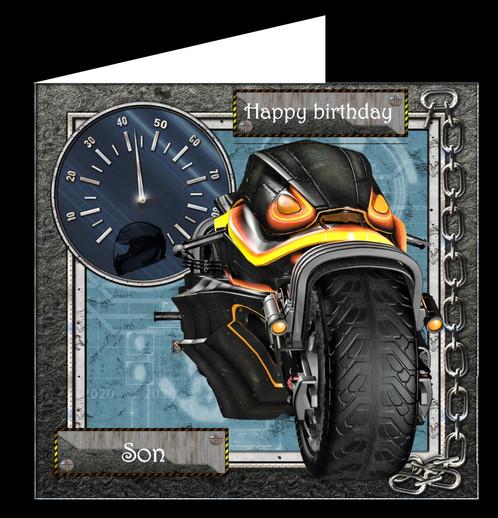 Motorbike Birthday Cards North Yorkshire – Motorbike Birthday Cards