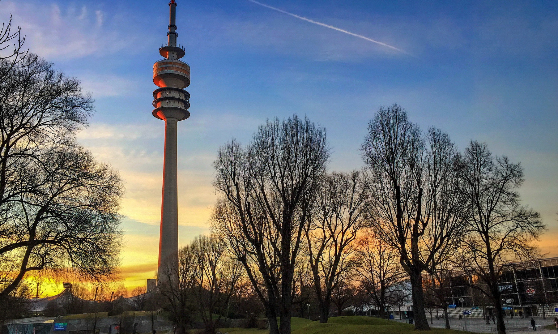 Телевизионная башня Мюнхена