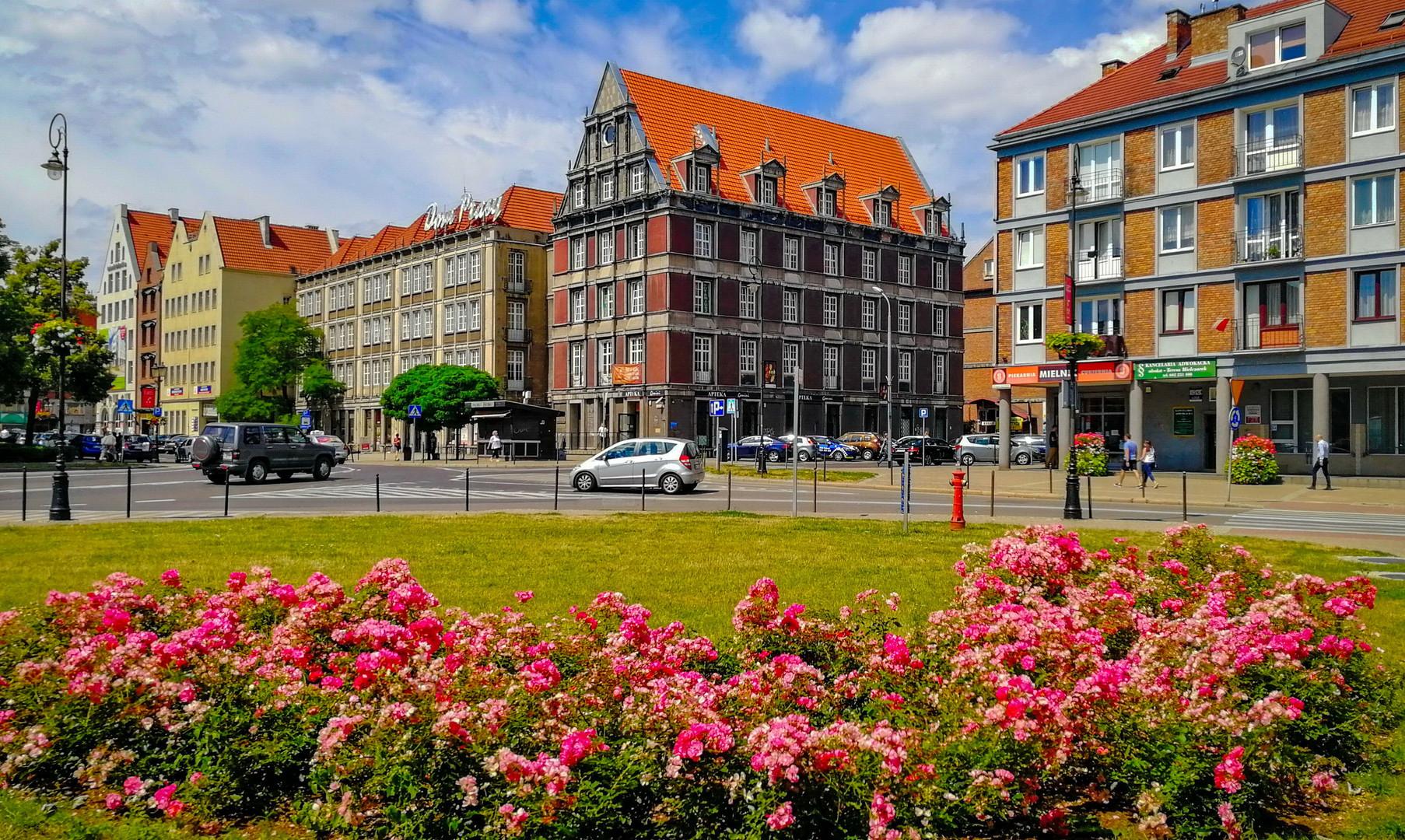 Центр города Гданьск