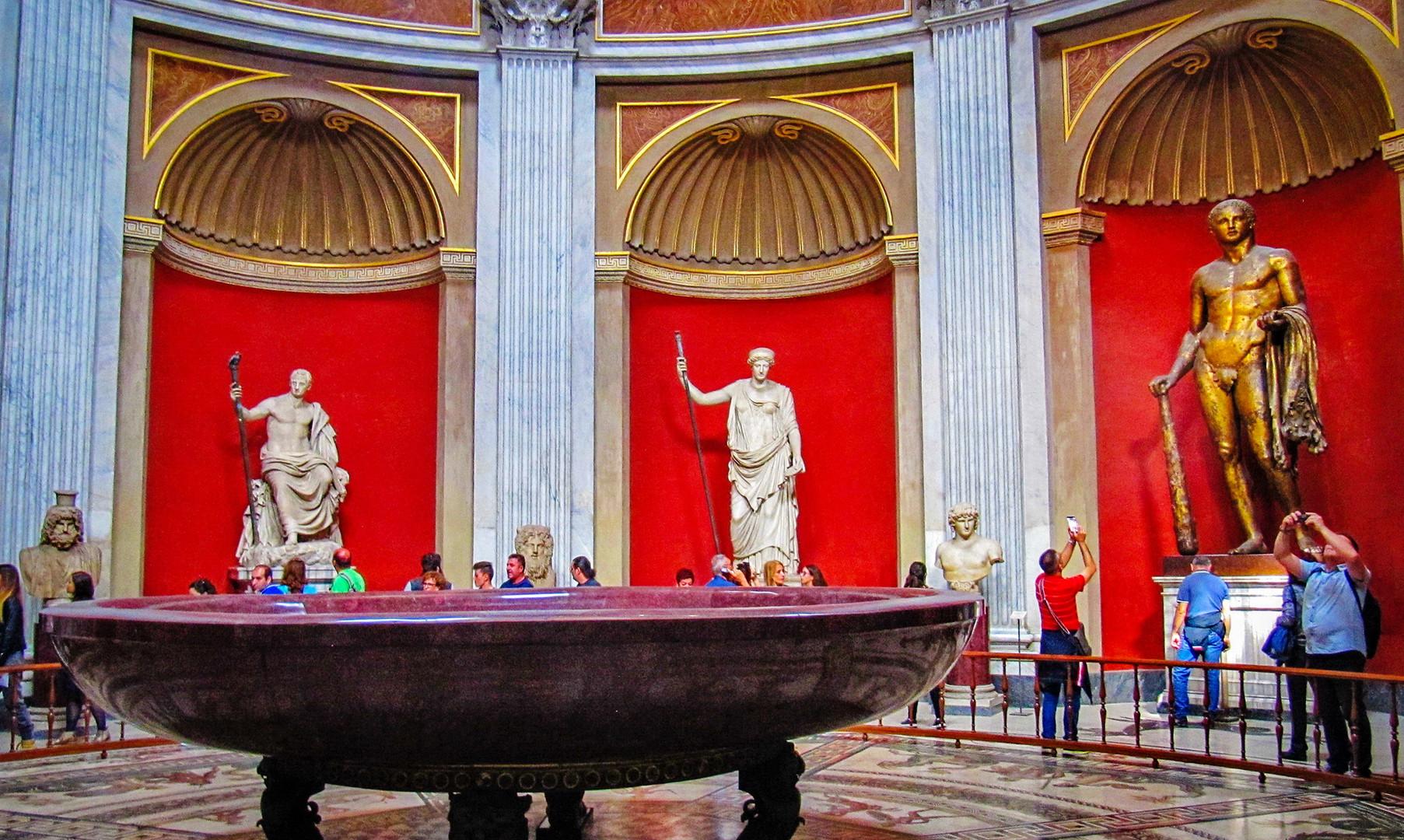 Музей Пио-Клементино в Ватикане