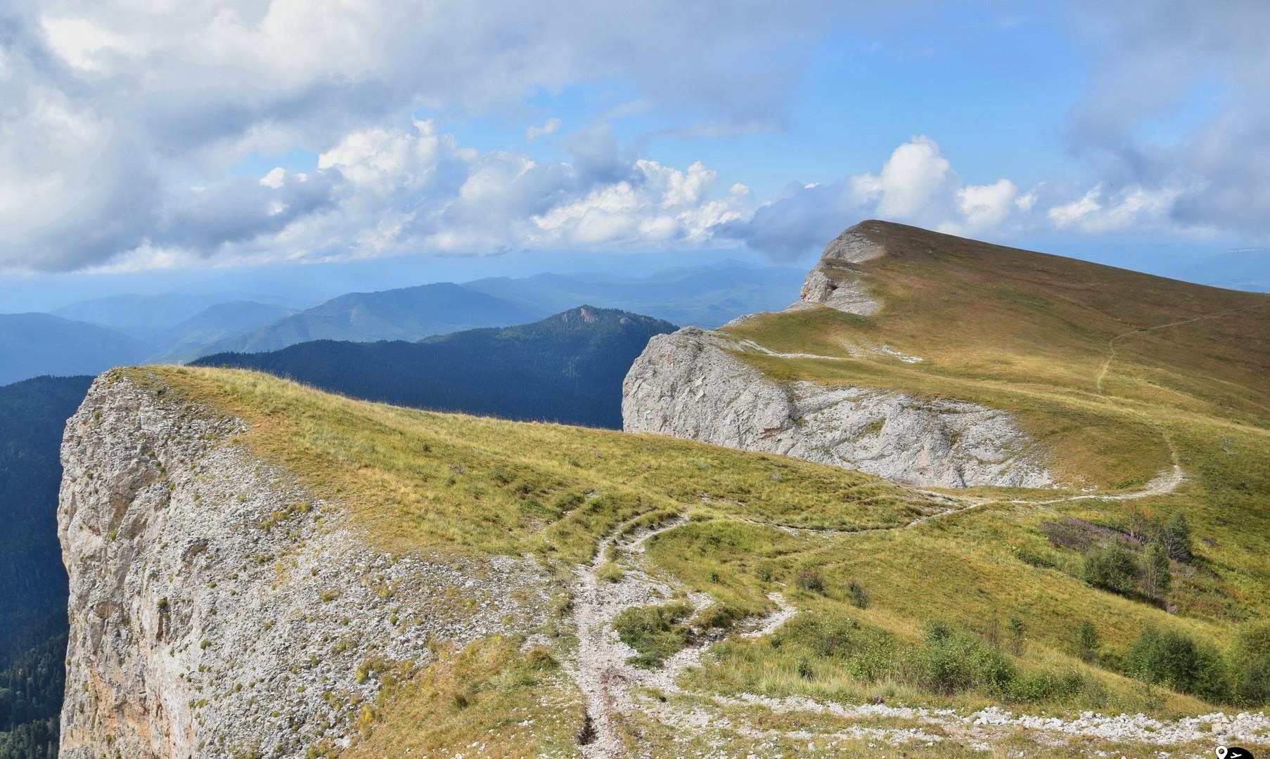 Пейзажи гор Адыгеи