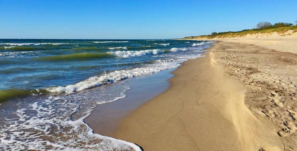 Пляжи Куршской косы, пос. Рыбачий