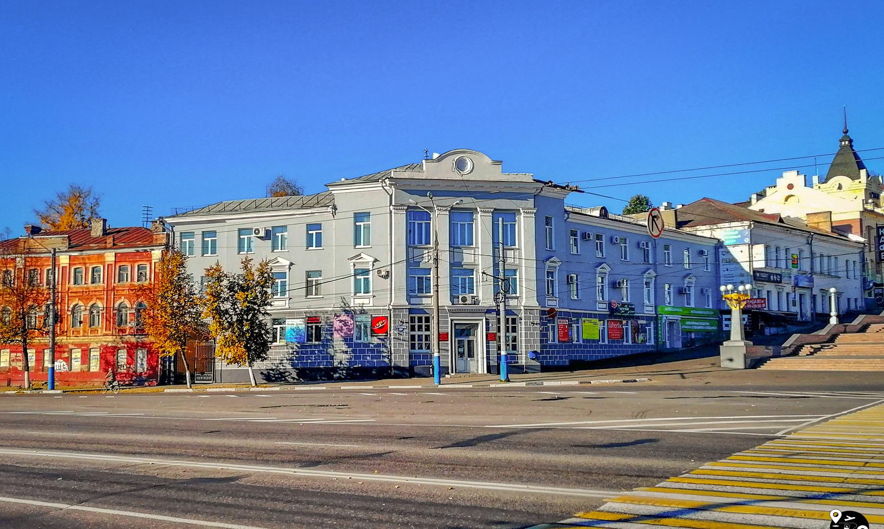 Славянская площадь, Брянск