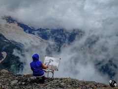 Пейзаж гор Кавказа