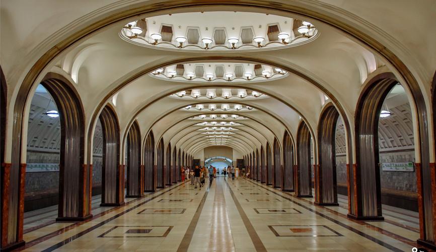 Московское метро (ст. Маяковская)
