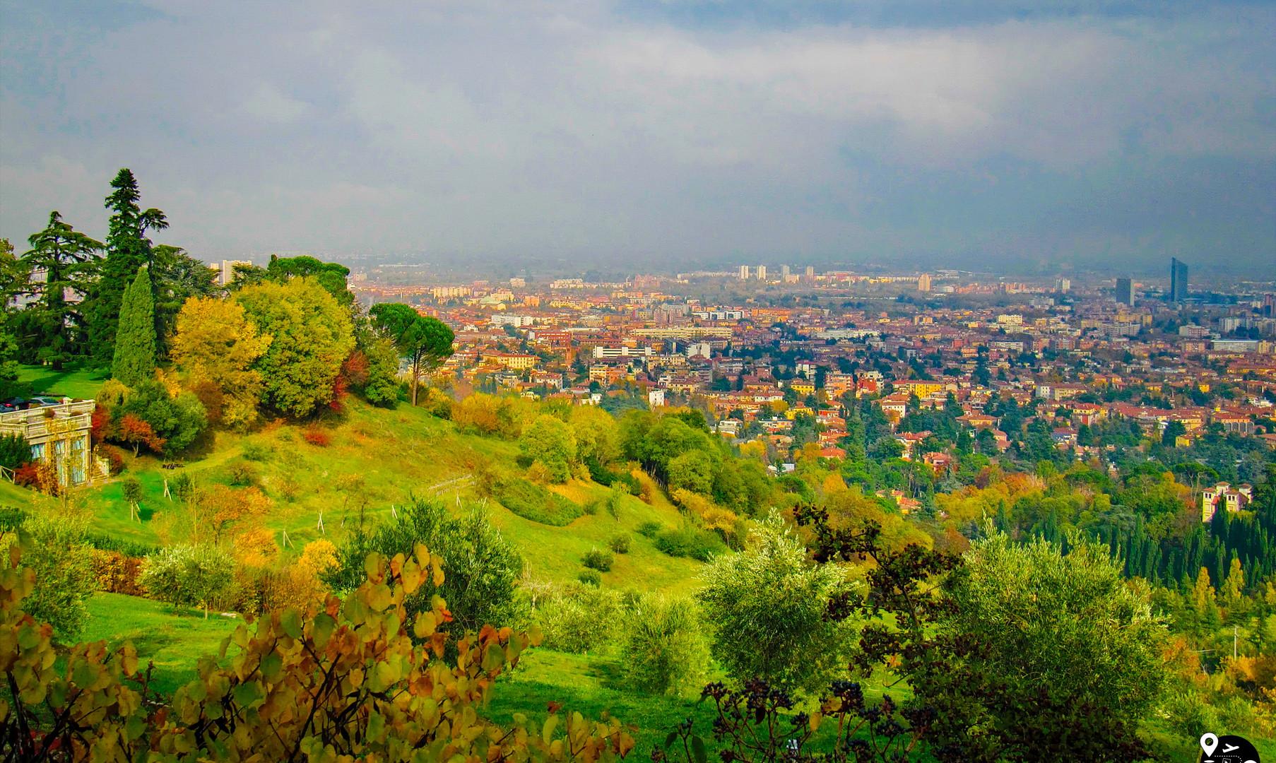 Панорама Болоньи