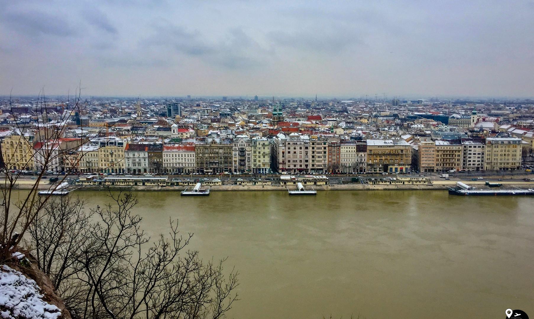 Панорама Будапешта