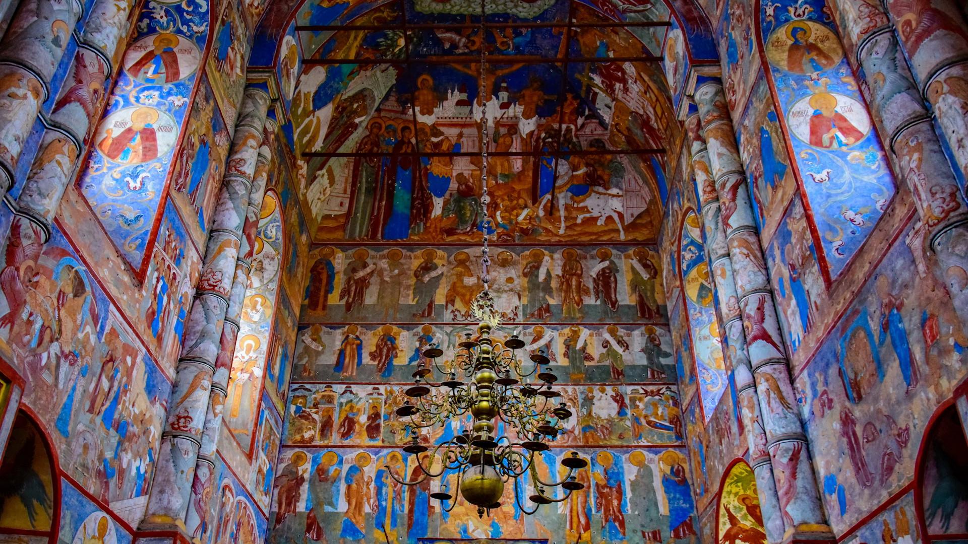 Росписи Ростовского кремля, Ростов