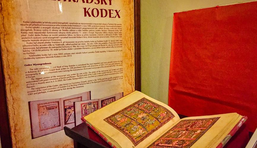 Вышеградский кодекс в монастыре Клементинум, Прага