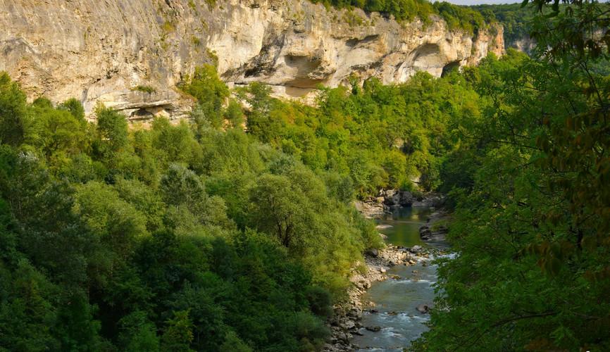 Ущелье реки Белой
