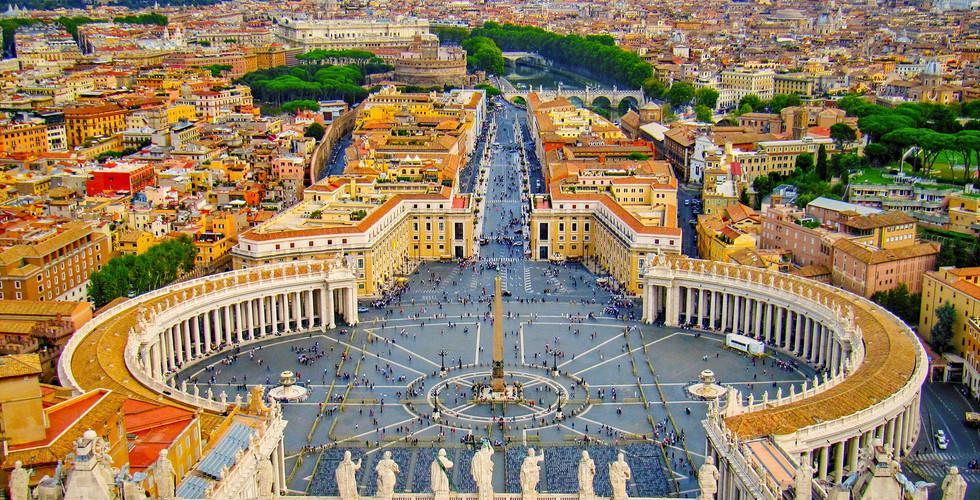 Площадь Святого Петра, Рим