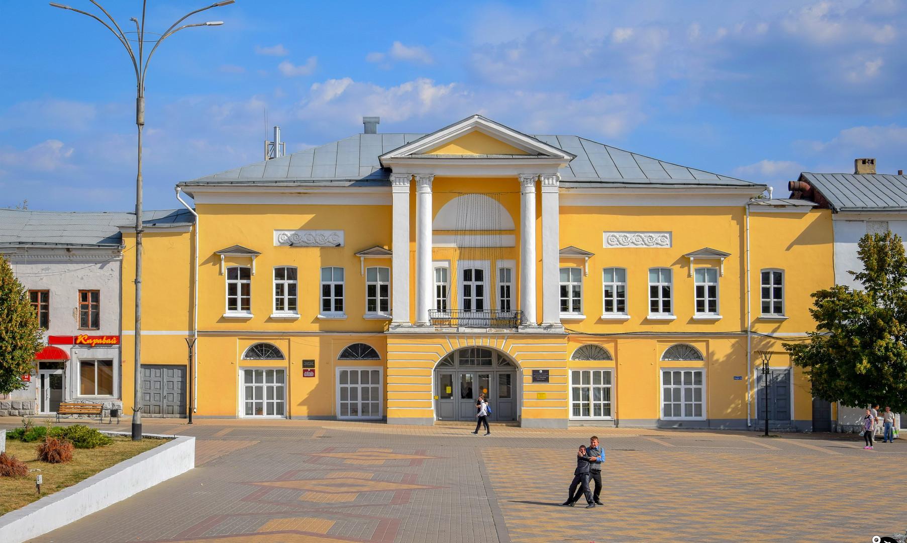 Площадь Ленина, Елец