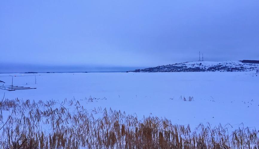 Зима на Волге