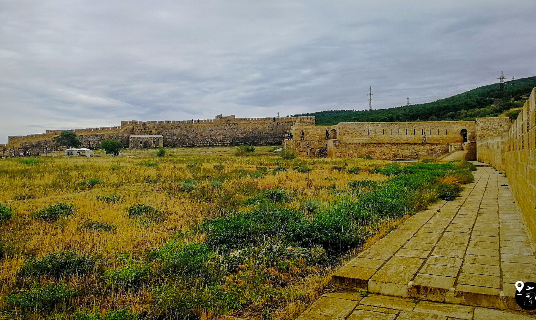 Стены крепости Нарын-Кала, Дербент