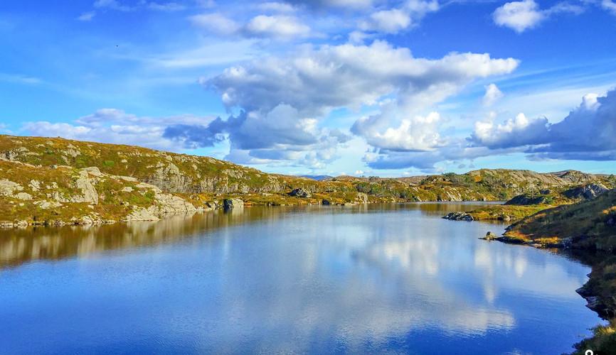 Северные пейзажи Норвегии