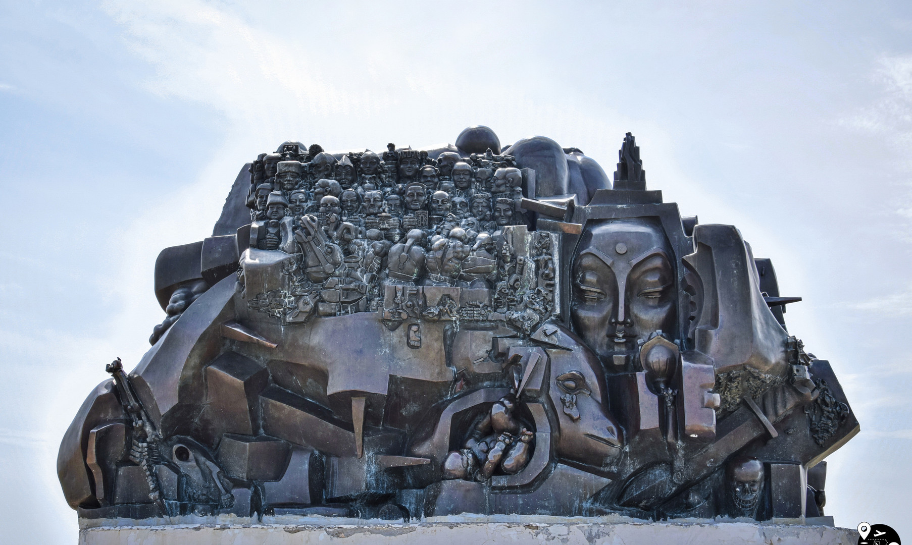 """Мемориальный комплекс """"Исход и возвращение"""" в Элисте"""