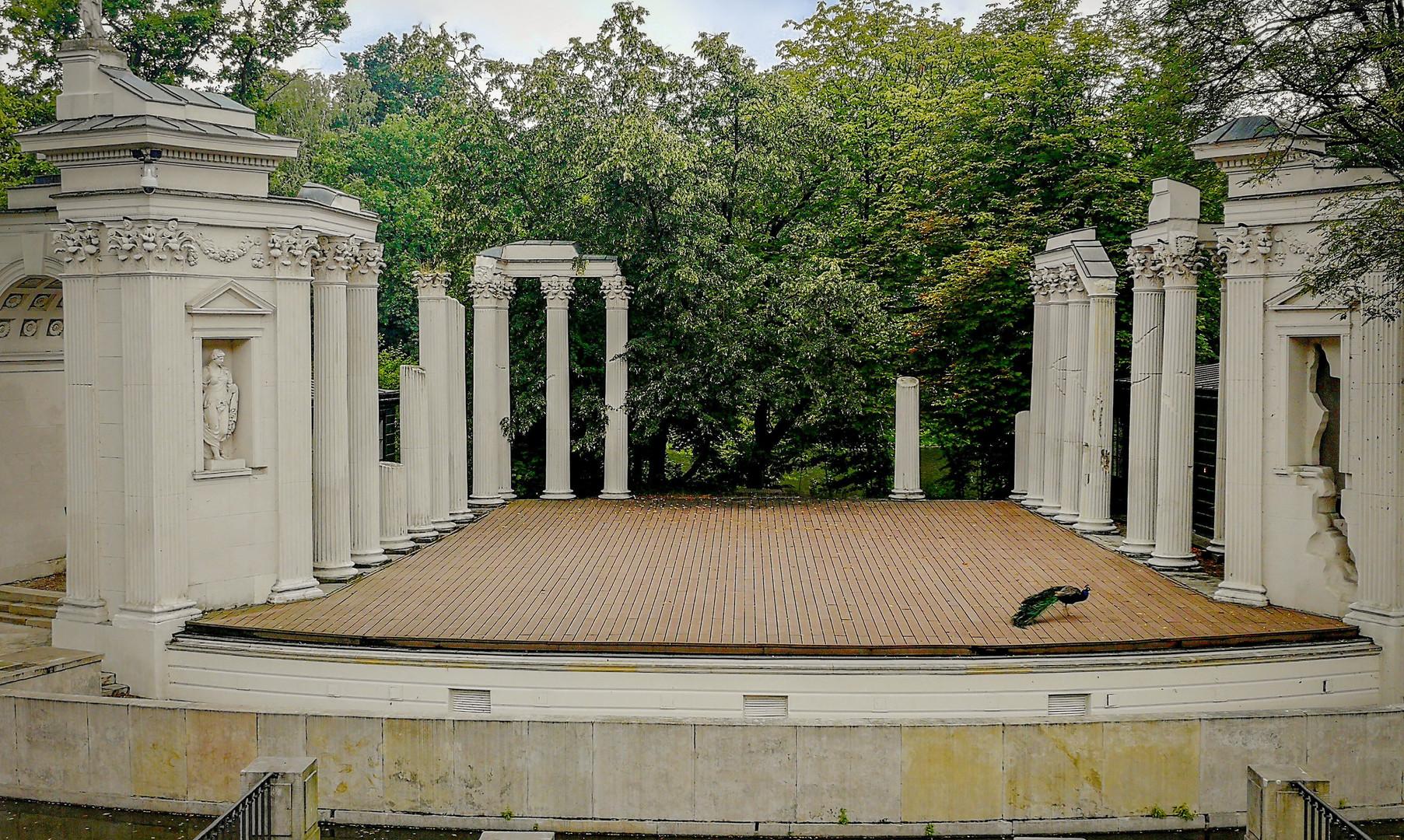 Сцена в парке Лазенки, Варшава