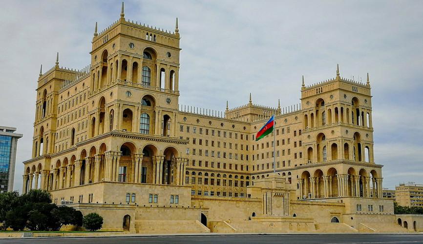 Дворец Правительства, Баку