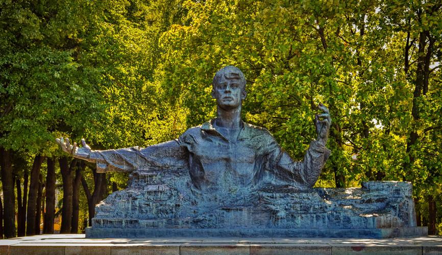 Памятник Есенину, Рязань