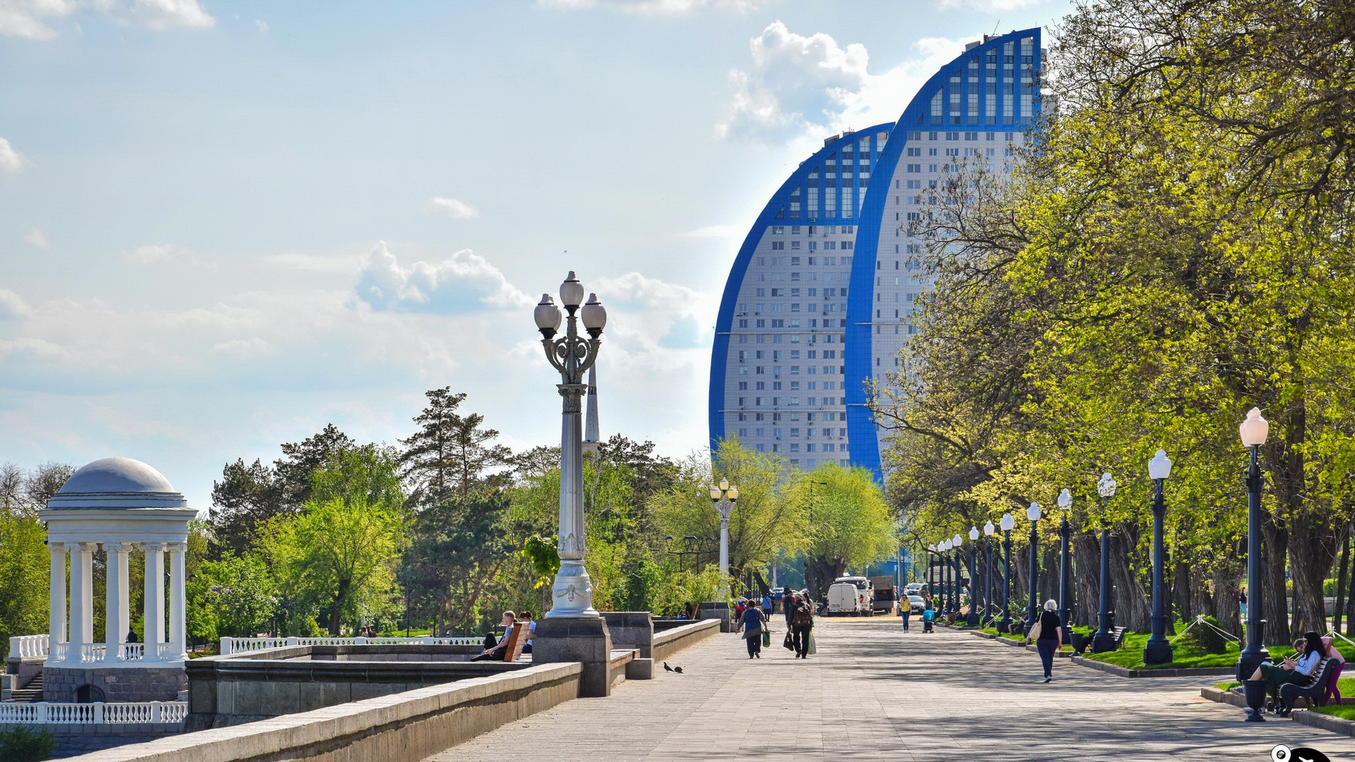 Парк Победы, Волгоград