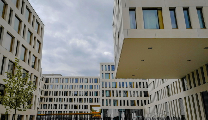 Европейский квартал в Люксембурге
