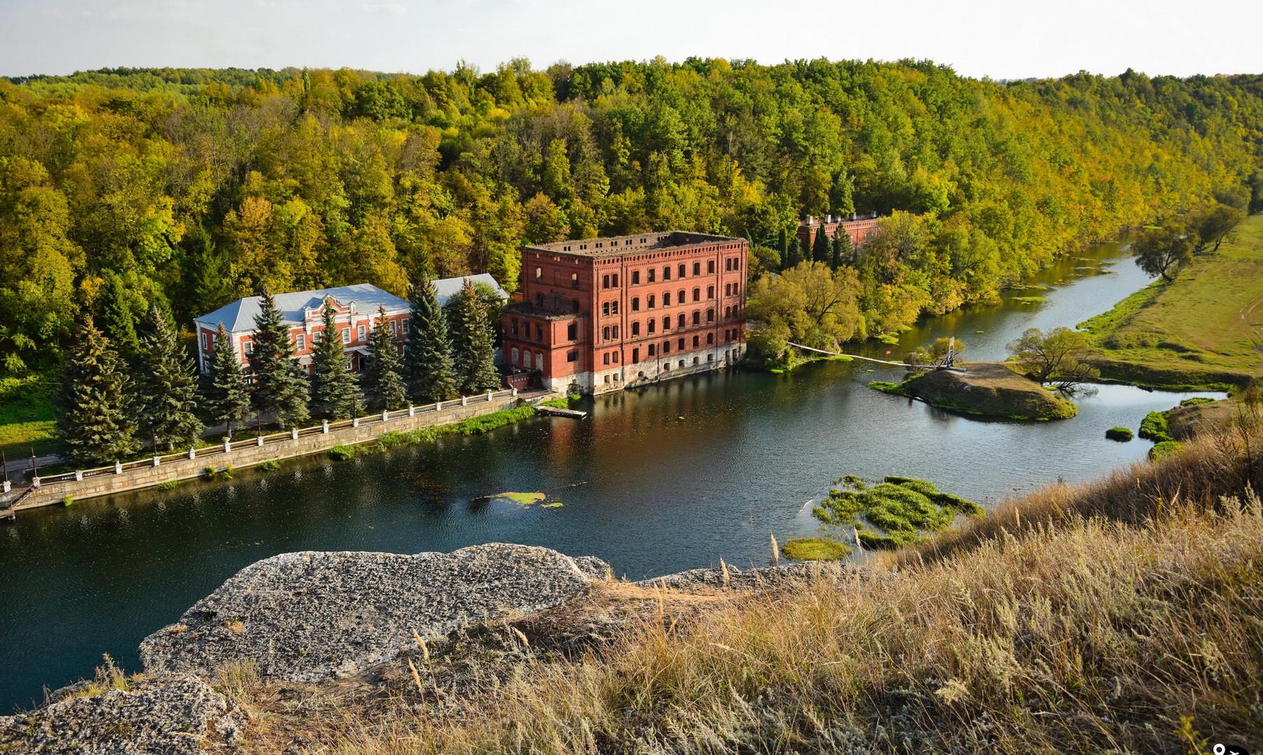 Старая водяная мельница купца Талдыкина, Дерновка