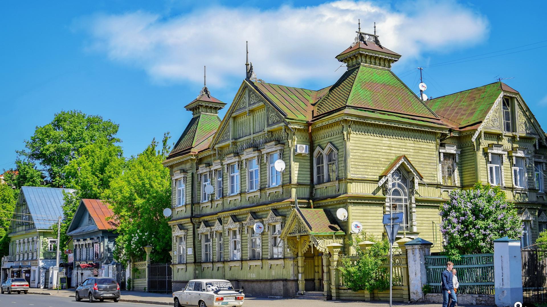 Старый город в Костроме