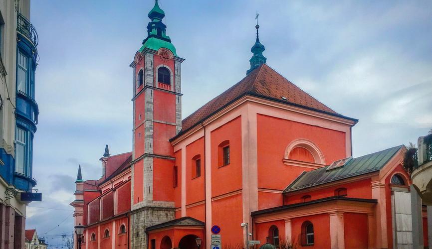 Монастырь францисканцев в Любляне