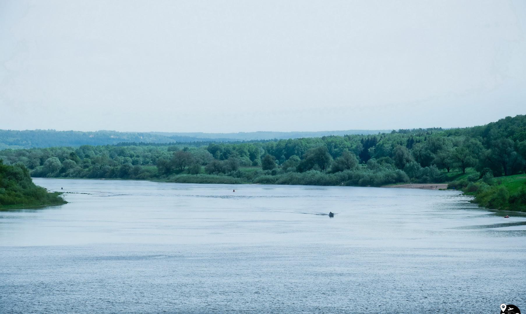 Река Ока в Калужской области