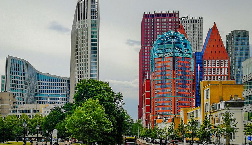 Деловой центр Гааги