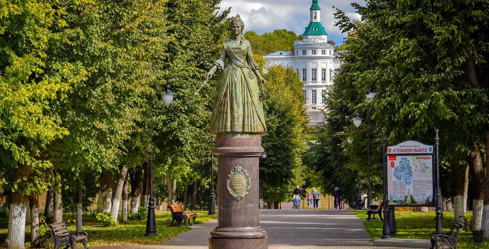 Дворец графов Бобринских, Богородицк