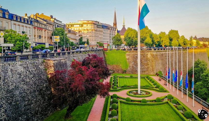 Площадь государственного флага, Люксембург