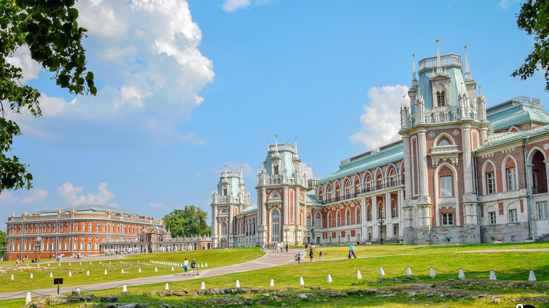 Дворец Царицыно, Москва