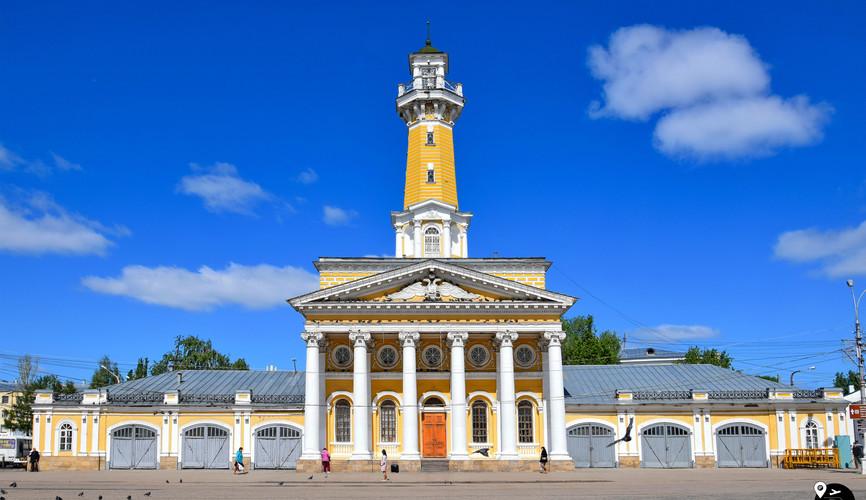 Пожарная каланча на Сусанинской площади, Кострома