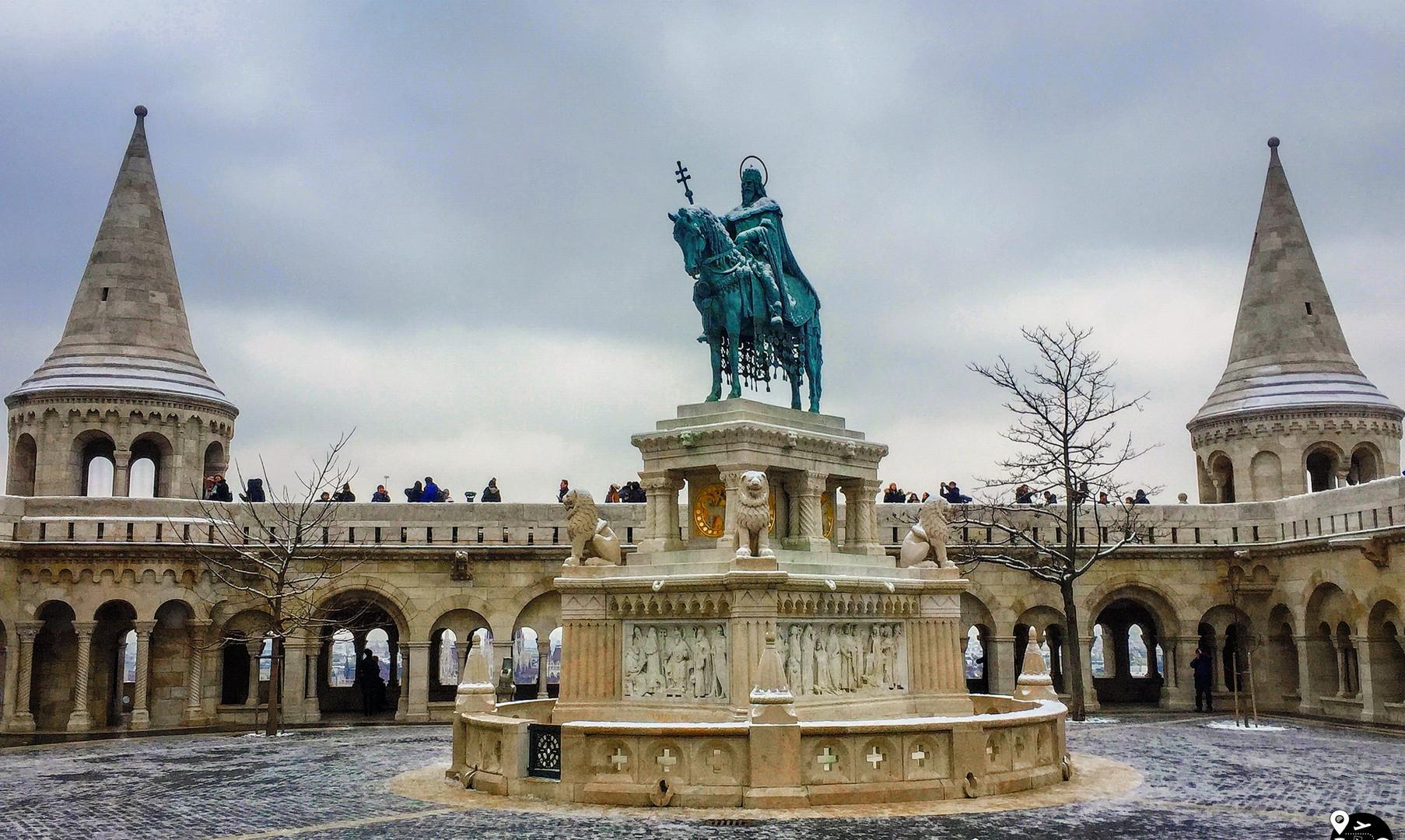 Памятник Иштвану Святому, Будапешт