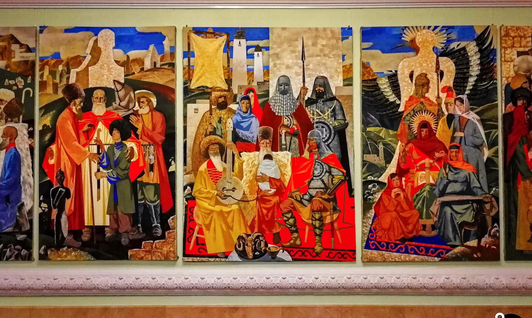 Искусство чеченского народа в музее Ахмата-хаджи Кадырова, Грозный