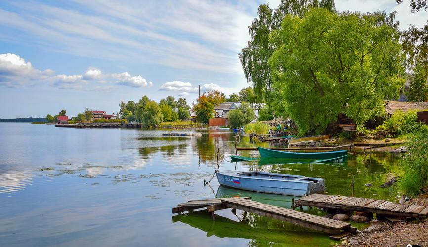 Рыбачье поселение в Осташкове