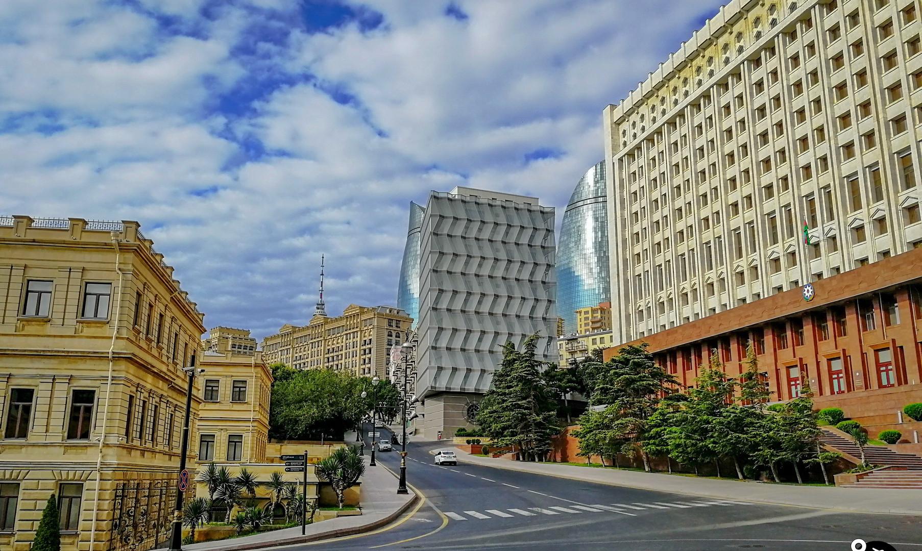 Центр города Баку