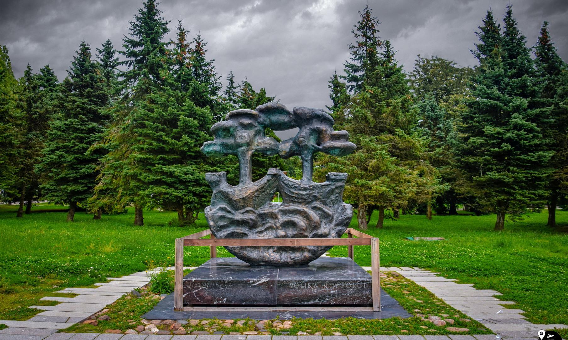 Знак Ганзы, Великий Новгород