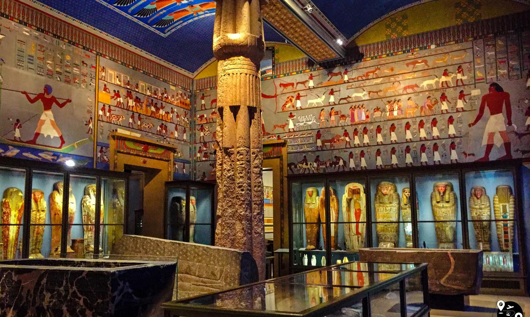 Египетский зал в Музее истории искусств, Вена