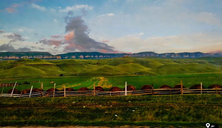 Отроги плато Бермамыт