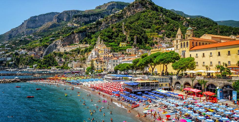 Амальфитанское побережье в Италии
